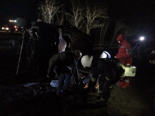 ДТП на Кіровоградщині: постраждалого водія деблокували з понівеченого авто